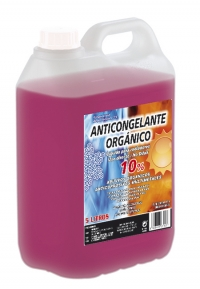 ANTICONGELANTE 10% ORGÁNICO ROSA