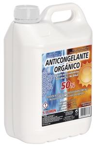 ANTICONGELANTE 50% ORGÁNICO AMARILLO