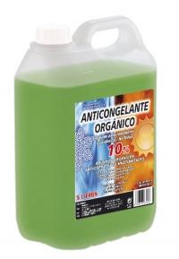 ANTICONGELANTE 10% ORGÁNICO VERDE